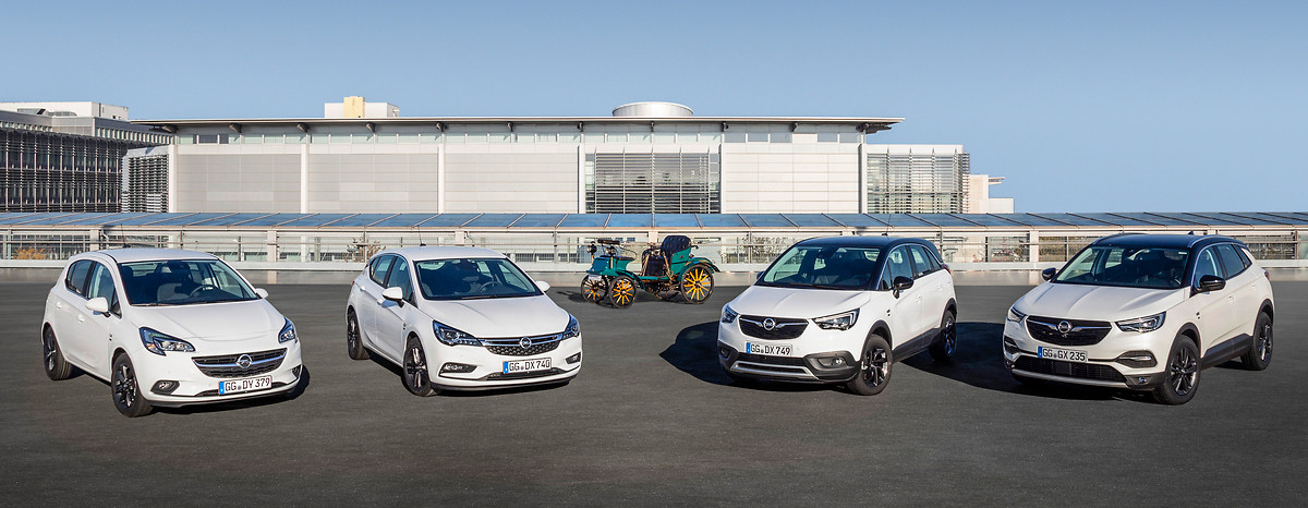 Opel Celebrates 120 Years of Automobiles